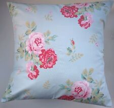 """Cushion Cover Made in Cath Kidston Antique Rose Blue 14"""" 16"""" 18"""" 20"""""""