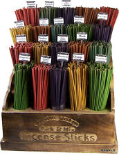 20 COLOURED INCENSE STICKS - VARIOUS SCENTS - FREE UK P&P -