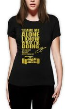 LEAVE ME ALONE I KNOW WHAT I'M DOING Women T-Shirt Lotus F1 KIMI RAIKKONEN race