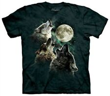 Three Wolf Moon T Shirt Classic Tee by The Mountain