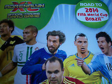Any TEAM SET Panini ADRENALYN XL Road To 2014 FIFA World Cup Brazil Card 1 - 18