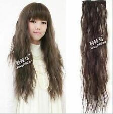 65cm Sweet Girls' Curly Wavy Hair Extension Natural 4 Colors TB703