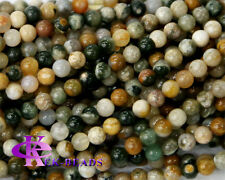 Natural Rainbow Ocean Jasper Round Loose Beads 2-14mm Discount for Wholesale