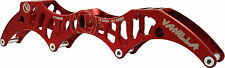 Red Vanilla Inline Tiger Frame - Aluminum Speed Skate Frames 4X100 or 4X110