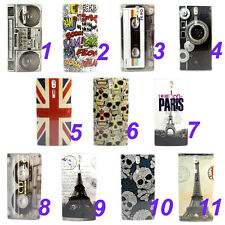 Various Pattern Hard Skin Case Cover For Sony Xperia S LT26i