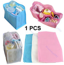 Outdoor Travel Portable Baby Diaper Nappy Changing Water Milk Bottle Storage Bag