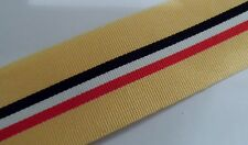 Iraq Op Telic Miniature Size Medal Ribbon, Army, Military, Mini, Various Lengths