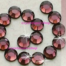 Amethyst Purple Iron On Flatback Hotfix Rhinestones Crystal Glass Nice Diam​ante