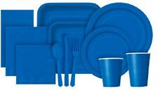 ROYAL BLUE Tablecovers Napkins Party Bags Streamers Plates Cups Decorations