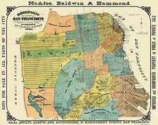 Historic City Maps - GUIDEMAP OF THE CITY OF SAN FRANCISCO BY GEO. B WILBUR 1890