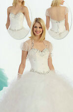 3 Colors Quinceanera Ball Gown Dresses Prom Evening Pageant Party Formal  XS-2XL