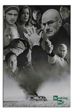 Breaking Bad Up In Smoke Large Wall Poster New - Laminated Available