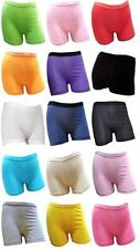 GIRL'S COTTON LYCRA STRETCHY BOXER SHORTS FOR SCHOOLS SPORT&UNDER SCHOOL SKIRT