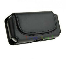 Black Belt Leather Skin Pouch Case Cover for HTC Mobile Cell Phones 2013 NEW