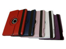 For i Pad 2 360 Rotating Magnetic Leather Case Smart Cover Stand 5 Colors