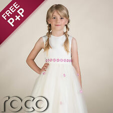 Girls Ivory Dress, Flower Girl Dresses, Bridesmaid Dresses, Kids Dresses