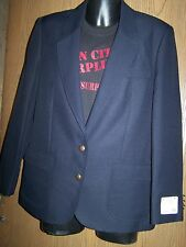 LADY EDWARDS NAVY BLAZER
