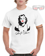 MARILYN MONROE Printed T-Shirt Norma Jean 50's 60's Icon Sex Symbol
