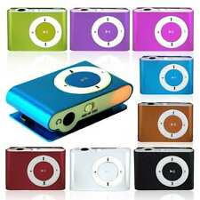 Fashoin Mini Clip MP3 Player +Earphone+ USB Cable Support Micro SD TF Slot Card