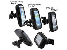 360 Bike Bicycle Mount Holder Stand Waterproof Case Pouch For All Mobiles Models