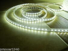 Bright WHITE SMD5050 High Intensity LED Rope Lights - SMD-5050 - 110 Volt Power