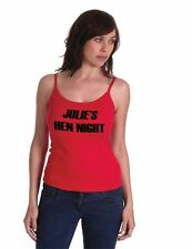Printed Ladies Camisole Top In Various Sizes & Colours Ideal For Hen Parties