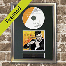 MICHAEL BUBLE To Be Loved FRAMED Signed CD COVER MOUNTED A4 Autograph Print (35)