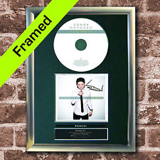CONOR MAYNARD Contrast Album FRAMED Signed CD MOUNTED A4 Autograph Print (15)
