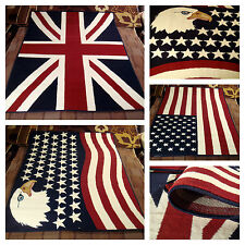 FINO A 3X2 TAPPETO MODERNO UNION JACK BANDIERA INGLESE UK BUCKINGHAM CARPET RUG