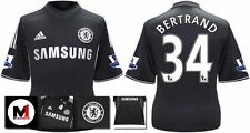 *13 / 14 - ADIDAS ; CHELSEA 3rd KIT SHIRT SS + ARM PATCHES / BERTRAND 34 = KIDS*