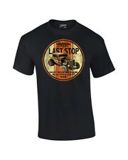 Motorized T-Shirt Last Stop Hot Rod Repair Historic Route 66