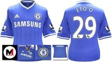 *13 / 14 - ADIDAS ; CHELSEA HOME SHIRT SS + PATCHES / ETO' O 29 = KIDS SIZE*