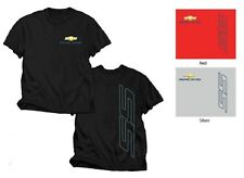 CHEVROLET RACING CHEVY SS BLACK RED OR SILVER TEE SHIRT