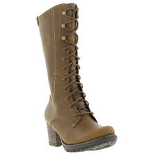 New Caterpillar Mae Womens Leather Boots Ladies Shoes Size UK 4-8