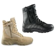 "Original Swat Chase 9"" Tactical Police Military Boots with Side Zipper - 1312"