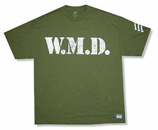 "WWE WRESTLING ""BIG SHOW WMB"" OLIVE GREEN T-SHIRT NEW OFFICIAL"