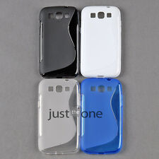 Fitted Smart fr Samsung Galaxy Win i8552 Gel TPU S-Line X-line Skin Case Cover
