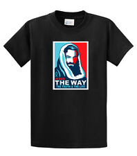 Christian T-Shirt Jesus The Way The Truth & The Life