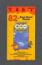 USC vs Northwestern 1996 Rose Bowl football ticket stub