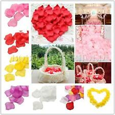 1000pcs Various Colors Silk Flower Rose Petals Wedding Party Decoration