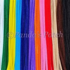 """Chenille Craft Stems Pipe Cleaners 12"""" 30cm 10 25 50 100 200pk - Free Post"""