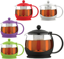 Grunwerg Cafe Ole Colours Stainless Steel Filter Infuser Teapot