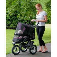 NEW Pet Gear NV NO-ZIP Dog Cat Jogger Stroller w/ Weather Cover and Plush Pad