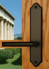 FPL Athens Privacy Door Lever Set & Back Plates; Bedroom and Bathroom Doors