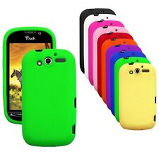 Silicone Soft Rubber Skin Cover Case for HTC myTouch 4G