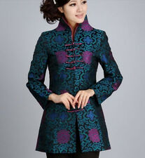 Chinese Women's Floral embroidery style jacket /coat Sz:8-16