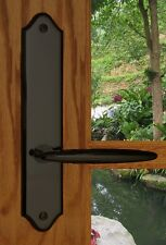 FPL Luxor Privacy Door Lever Set & Back Plates; Bedroom and Bathroom Doors