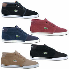Shoes Lacoste Ankle Boots High Top Trainers US 6.5-13