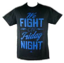 We Fight on Friday Night Smackdown WWE Mens T-shirt