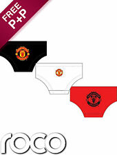 Boys Official 3 Pack of Manchester United Briefs, Underwear